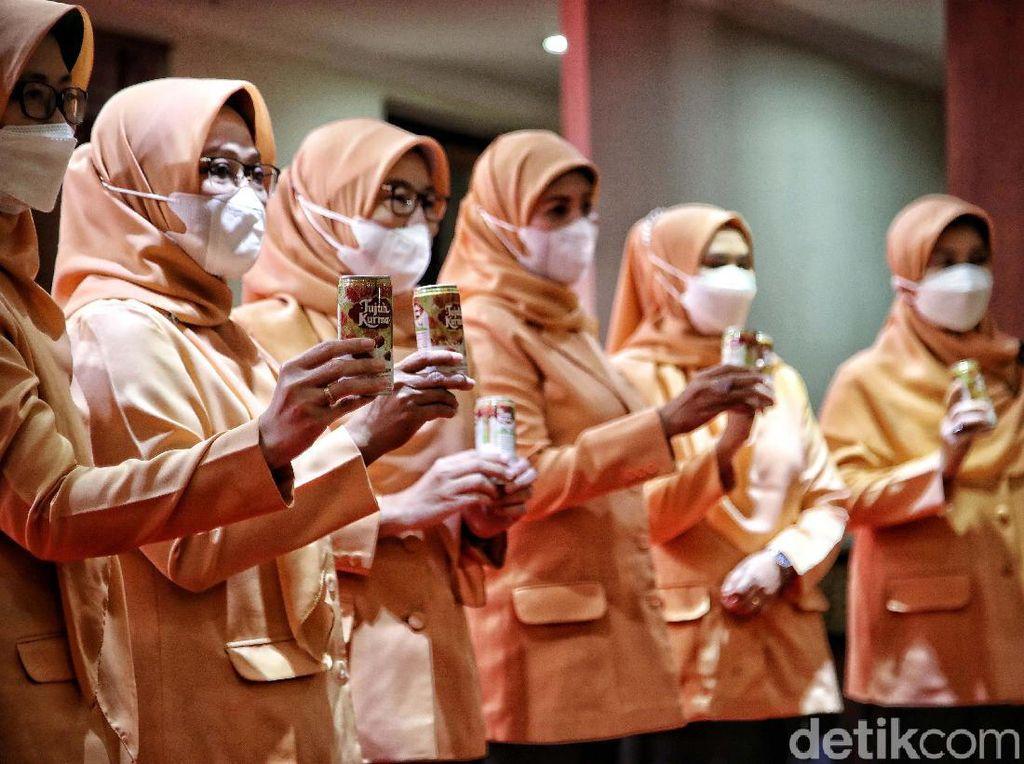 Bantuan Susu Kurma untuk Nakes di DKI Jakarta