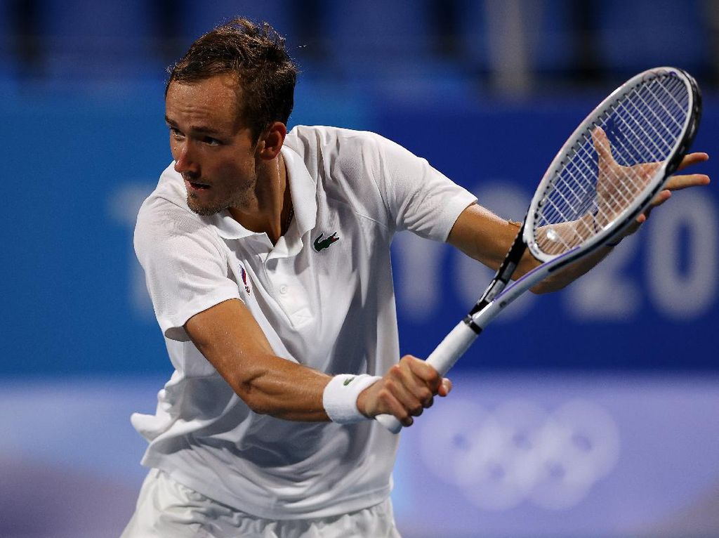 AS Terbuka 2021: Medvedev ke Semifinal, Sabalenka Juga Lanjut