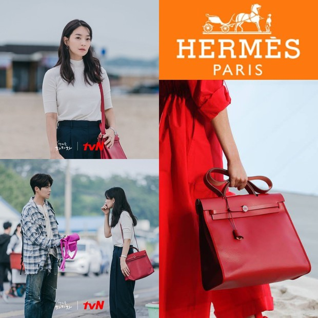 Tas Hermès Shin Min Ah di 'Hometown Cha-Cha-Cha'