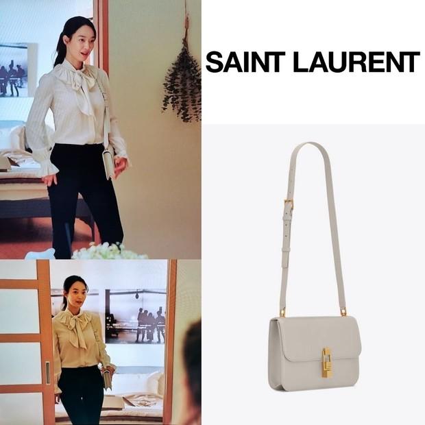 Tas Saint Laurent Shin Min Ah di 'Hometown Cha-Cha-Cha'