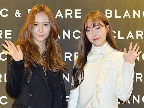 Jung Sisters di acara launching brand BLANC & ECLARE