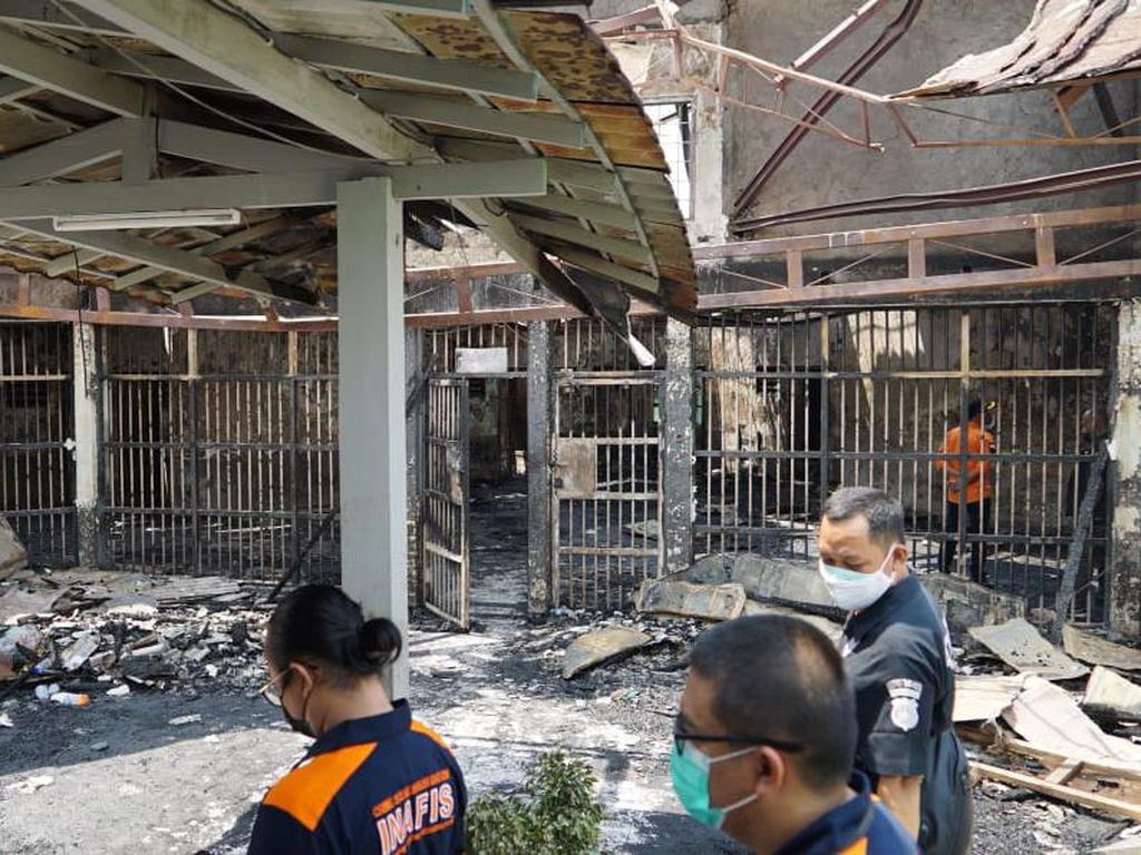 Kebakaran Maut Lapas Tangerang, Komnas HAM: Penyidikan Harus Mendalam