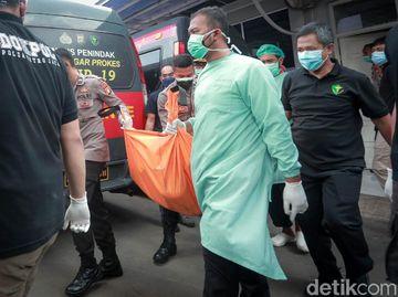 Jenazah Korban Kebakaran Lapas Tangerang Dibawa ke RS Polri