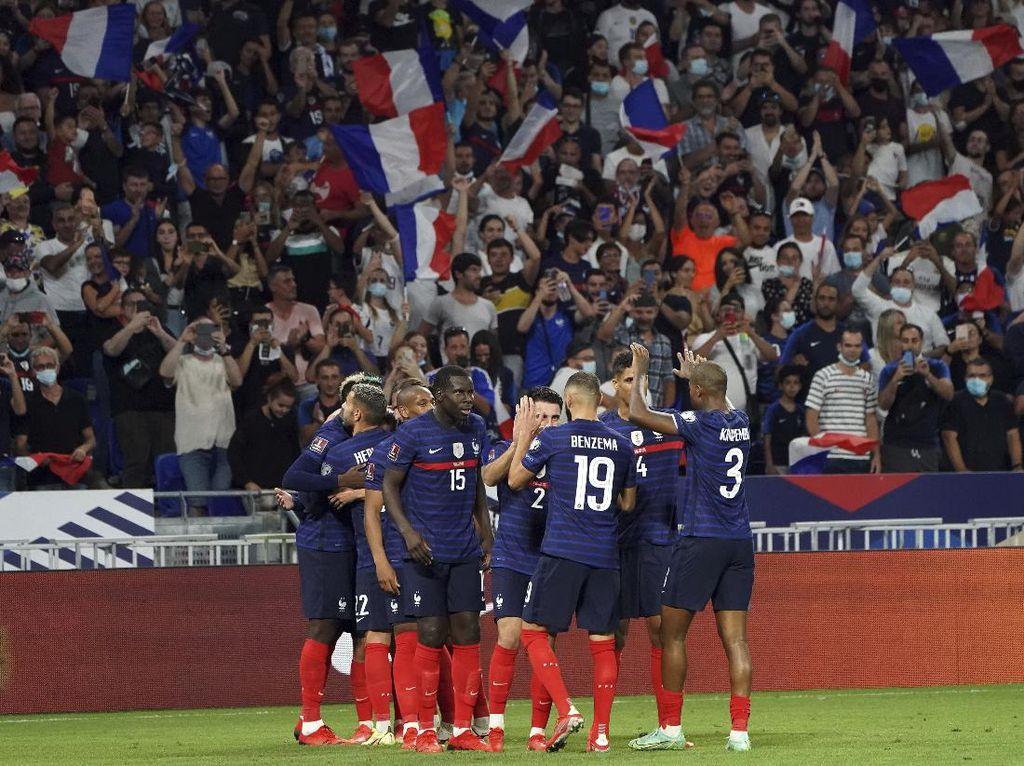 Prancis Vs Finlandia: Griezmann Menangkan Les Blues 2-0