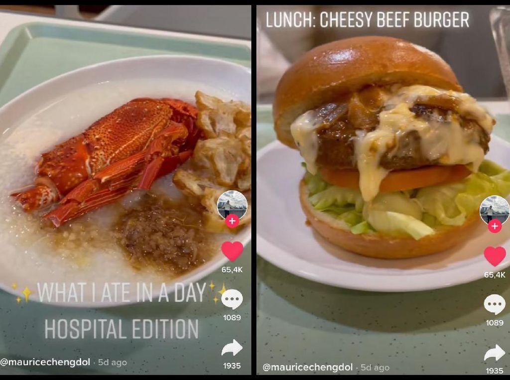 Makanan Mewah di RS Bertarif Rp 31 Juta Semalam, Ada Lobster hingga Burger Keju