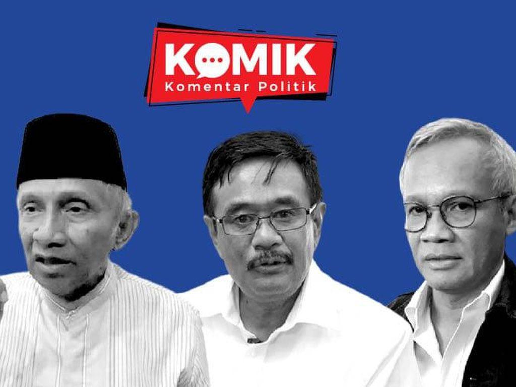 PDIP Sebut Amien Rais Kadrun Gegara Isu Jokowi 3 Periode