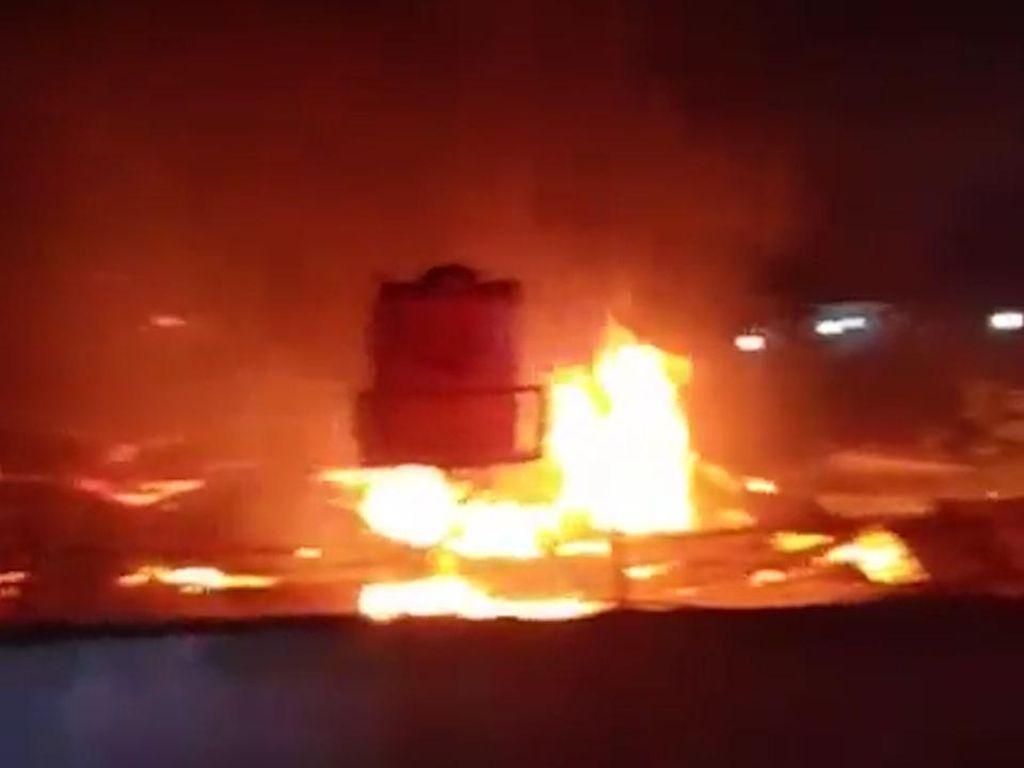Polisi Pastikan Ada Pidana di Insiden Kebakaran Lapas Tangerang