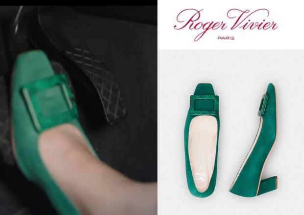 Sepatu hijau nan cantik yang dipakai Shin Min Ah dalam drama Hometown Cha Cha Cha