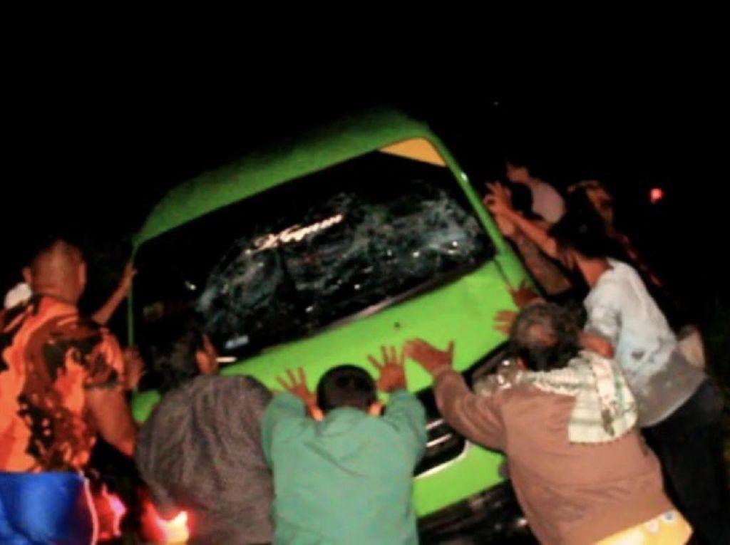 Sopir Angkot Penabrak Mati Satpam di Sukabumi Ditahan Polisi