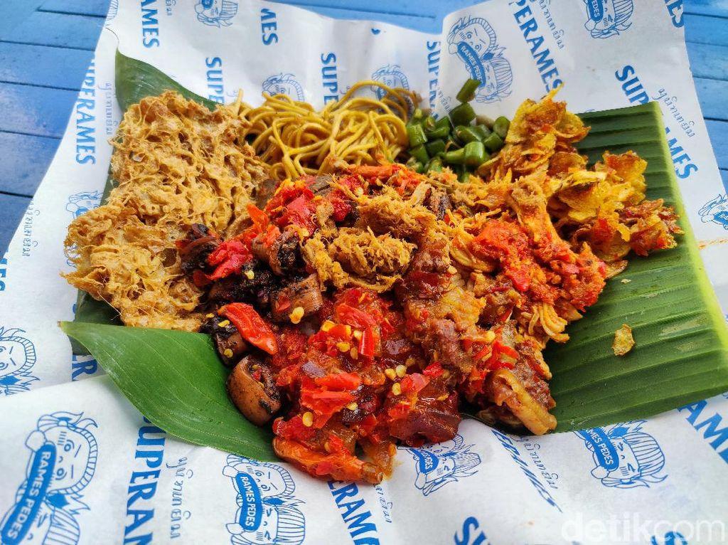 Mau Makan Nasi Rames Terpedas di Dunia, Wajib Tanda Tangan Surat Pernyataan
