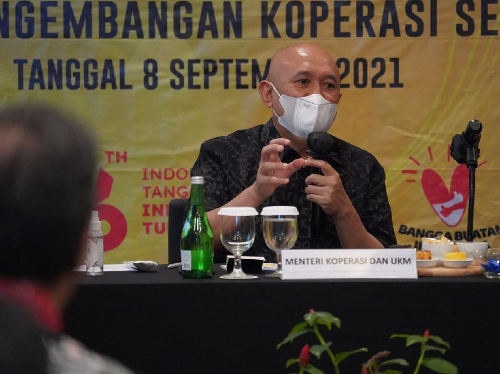 Skala Koperasi di Lampung Masih Kecil, Teten Sarankan Merger