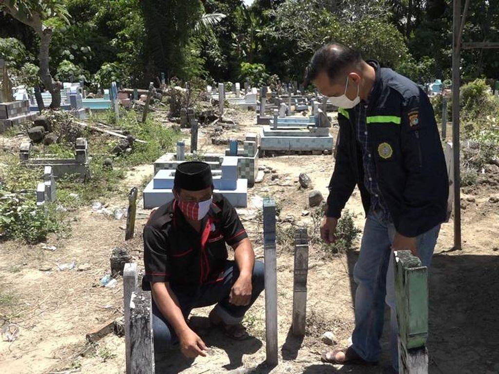 Viral Warga Polman Temukan Botol Berisi 7 Foto Wanita Tertanam di Kuburan