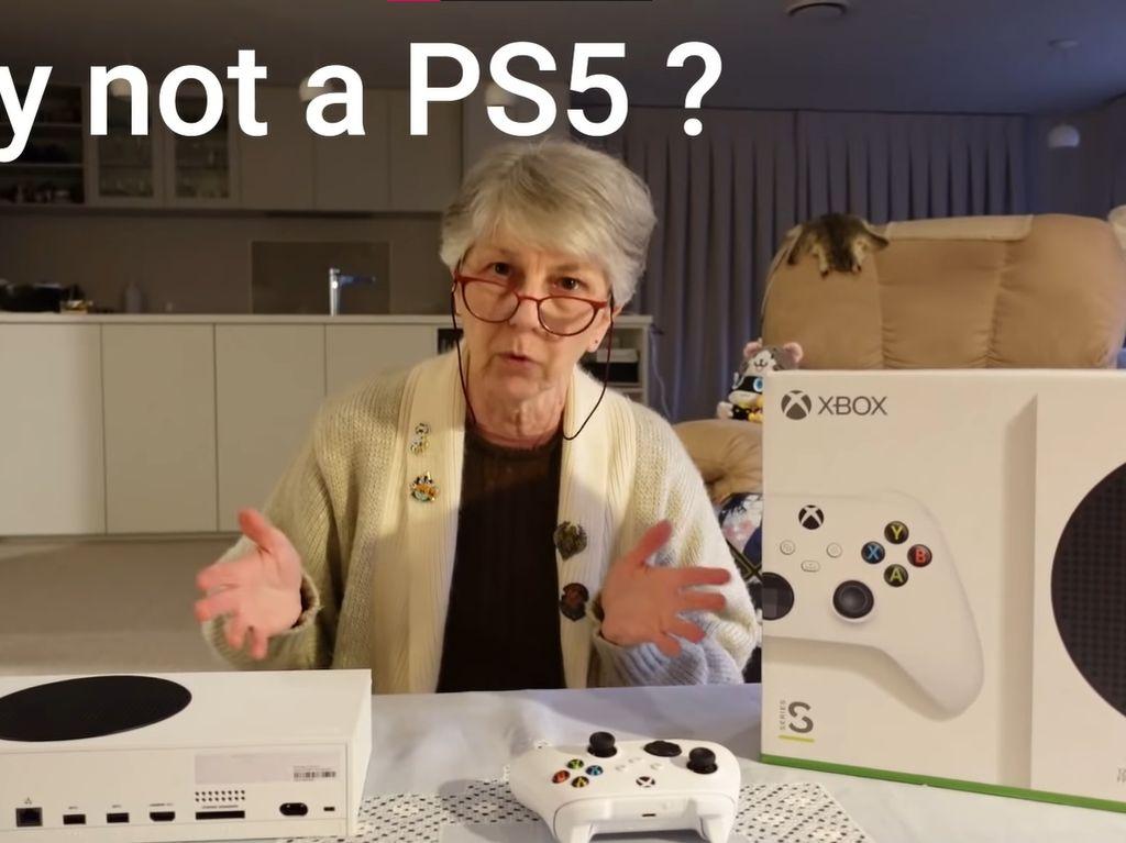 Nenek Gamer Lebih Suka Xbox Series S Dibanding PS5, Kenapa?