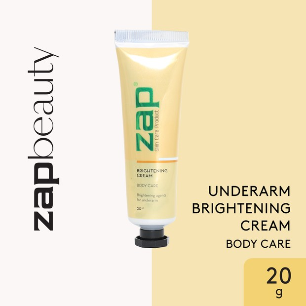 ZAP Underarm Brightening Cream / foto : zapclinic.com
