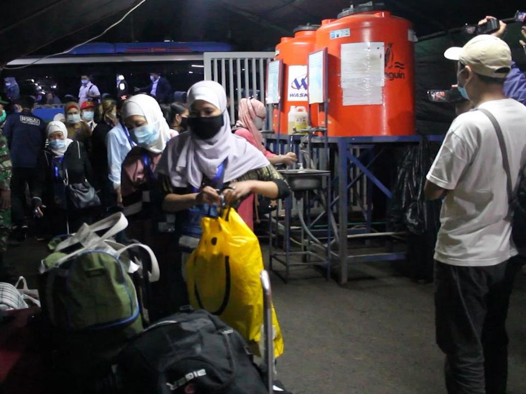 25 WNI Korban Perdagangan Orang Dipulangkan dari Suriah