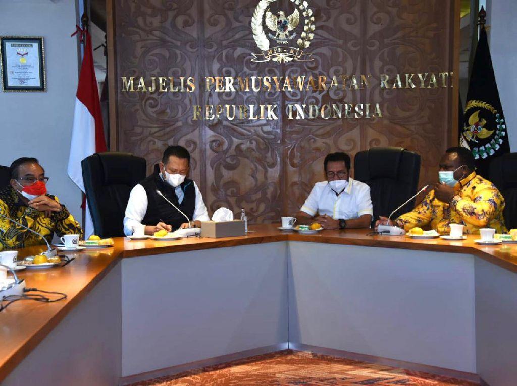 Bamsoet Sebut Dana Otsus Papua Naik 12,6% Jadi Rp 8,5 T
