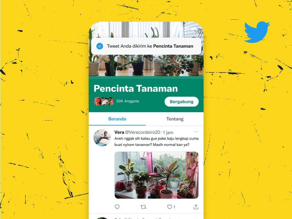 Twitter Uji Coba Fitur Komunitas yang Mirip Grup Facebook