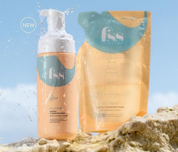 For Skin Sake Gentle Cleansing Foam