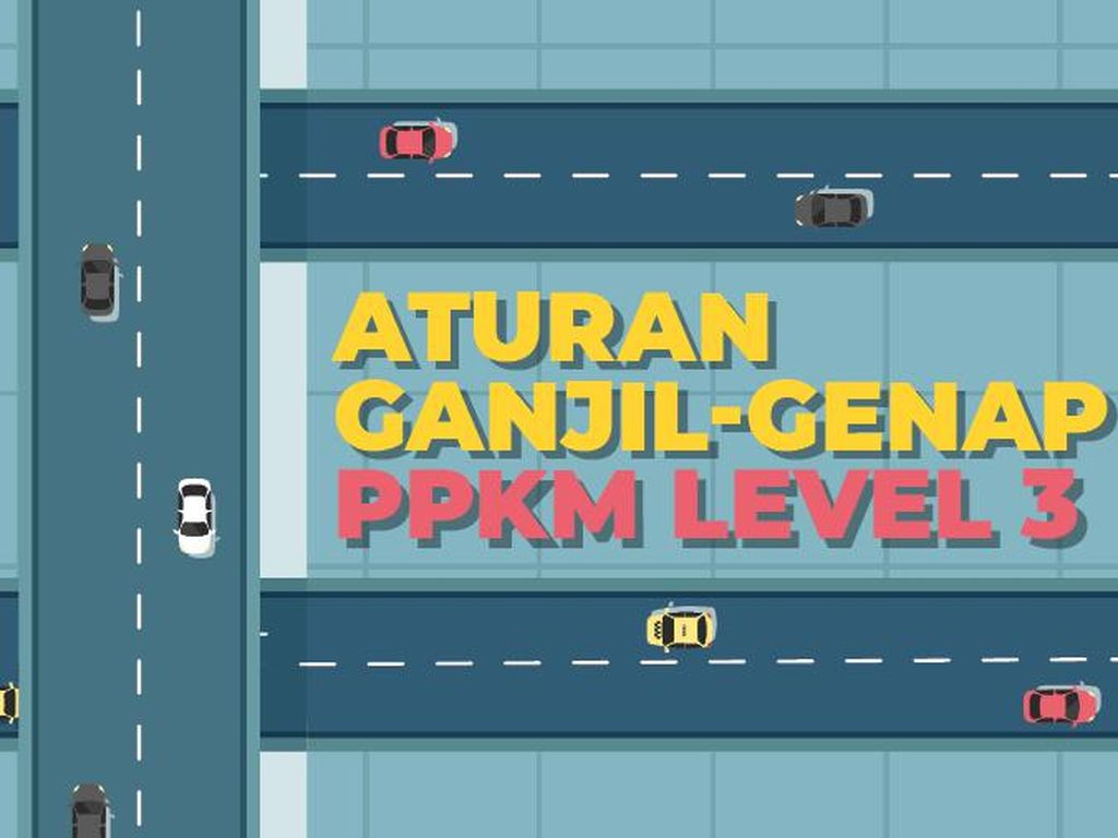 Aturan Ganjil-Genap PPKM Level 3