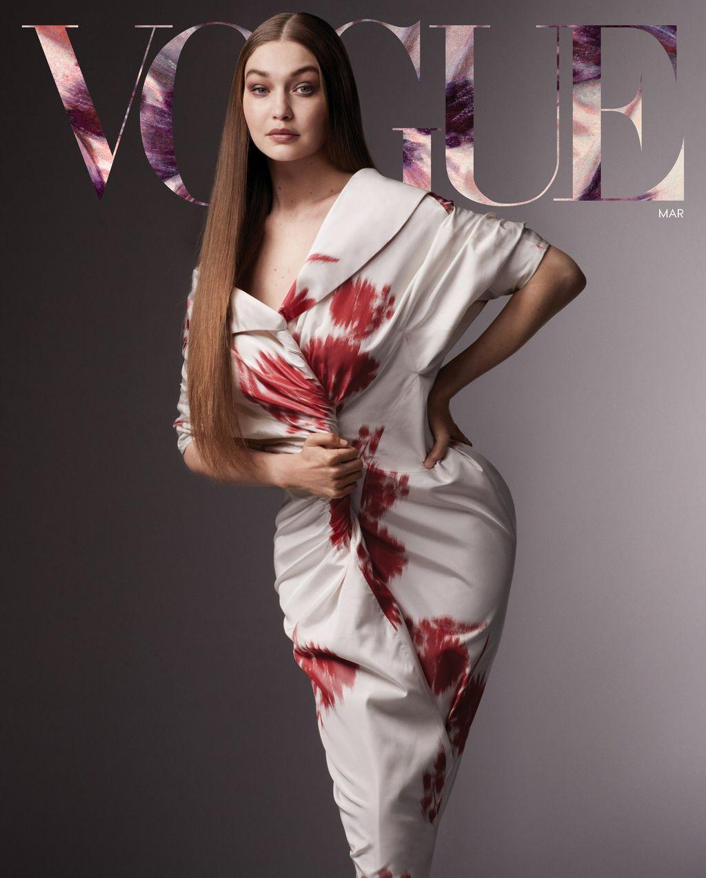Gigi Hadid Vogue Maret 2021