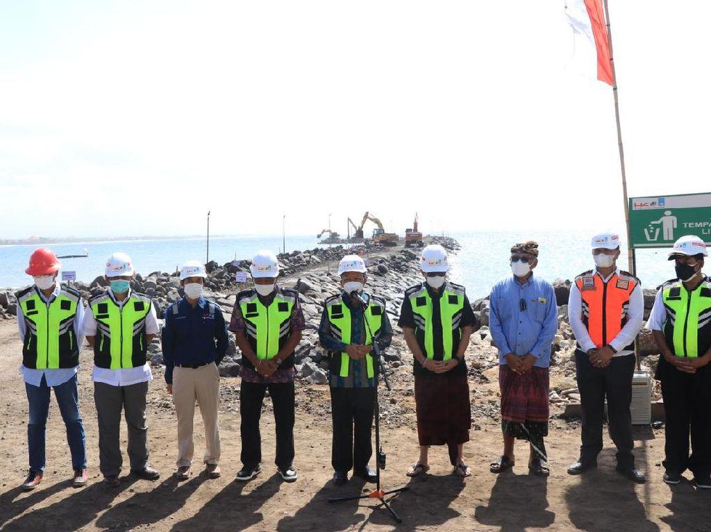 Koster Ungkap Cerita di Balik Ide Proyek Pelabuhan Segitiga Emas Bali
