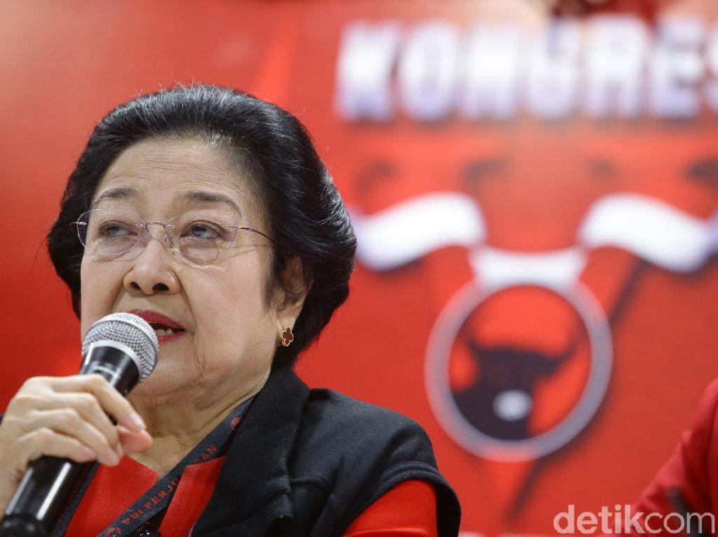 Megawati Cerita Hasto Nangis karena Hoax Sakit, Lalu Diminta Mejeng