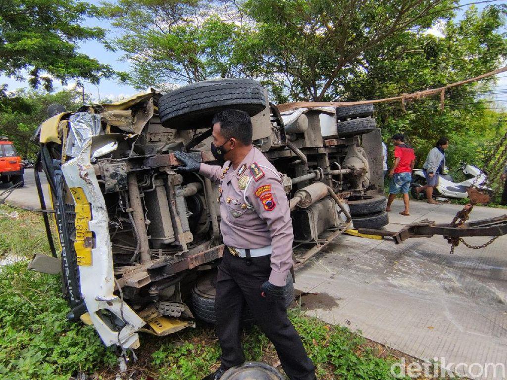 Kecelakaan Maut di Sigar Bencah Semarang, Polisi Amankan Sopir Truk