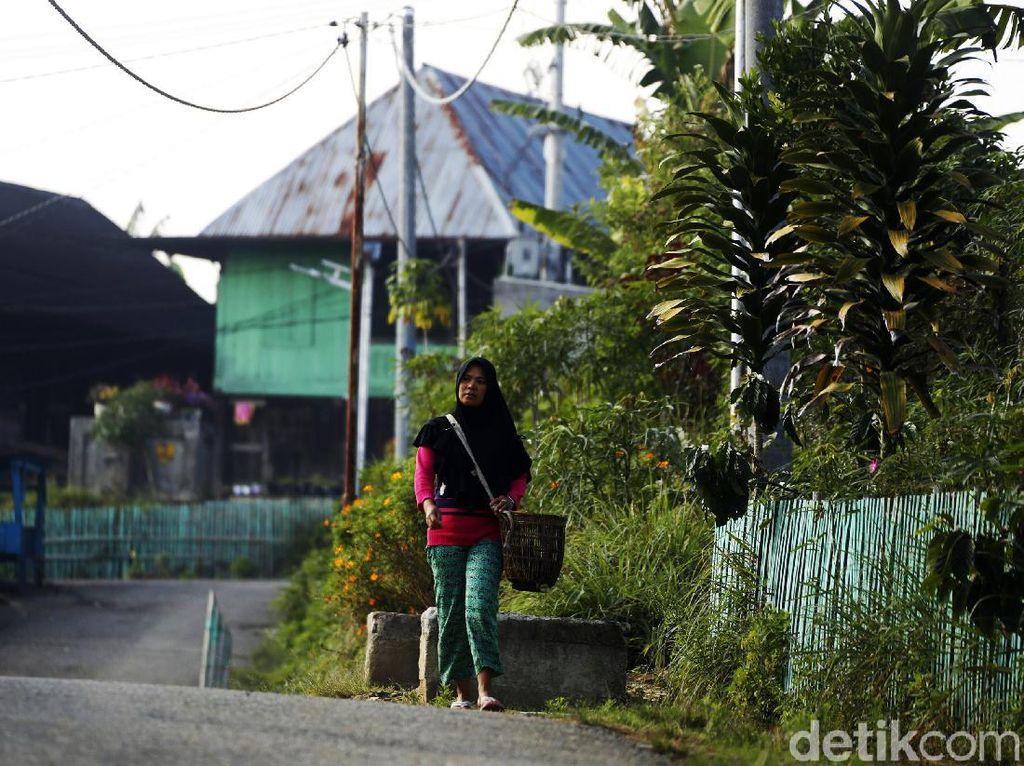 Desa Plakat yang Punya Tenaga listrik Mandiri  Loh