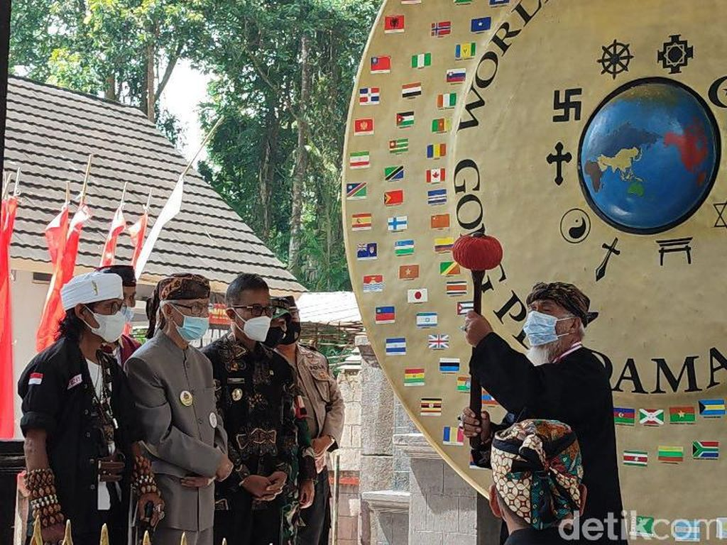 Alasan Gong Perdamaian Dunia Disimpan di Karangkamulyan Ciamis