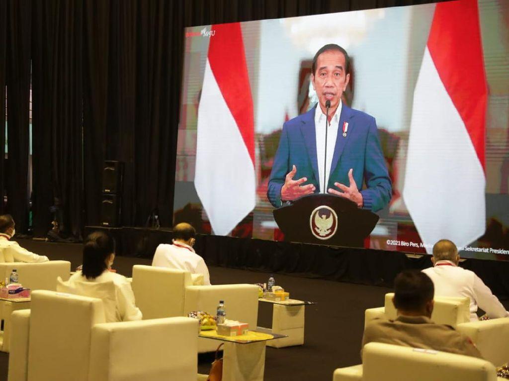 Jokowi Teken Perpres No 86/2021 soal Desain Besar Olahraga Nasional