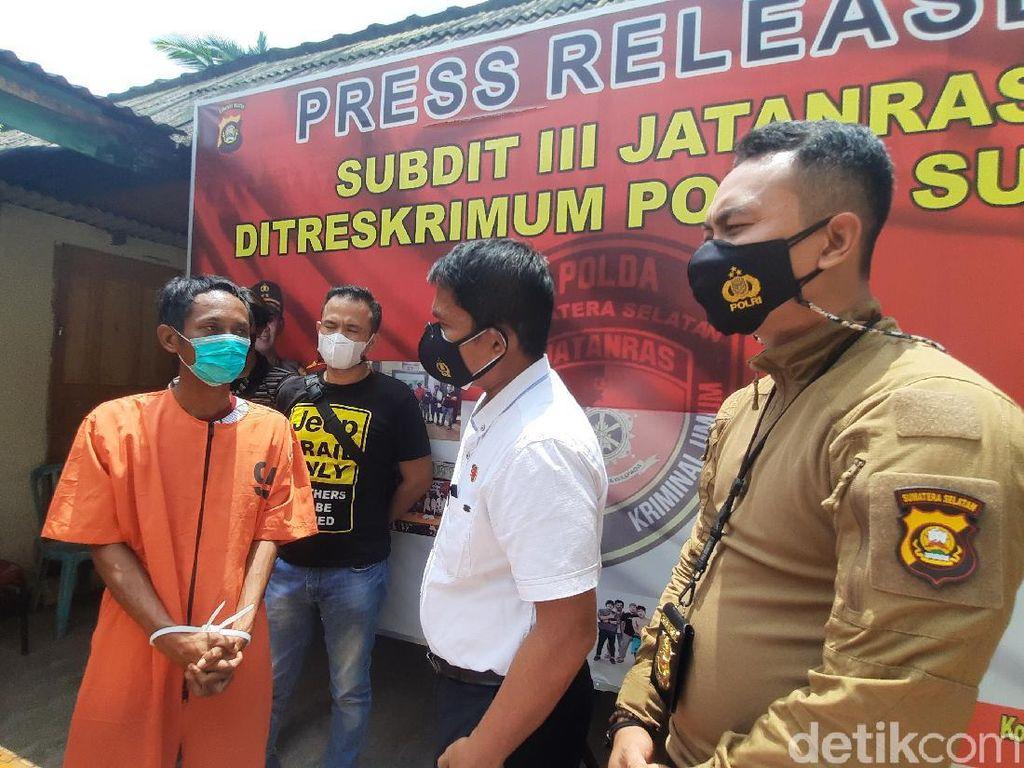 Kecanduan Judi Slot Online, Pembunuh Sadis di Sumsel Jadi Begal