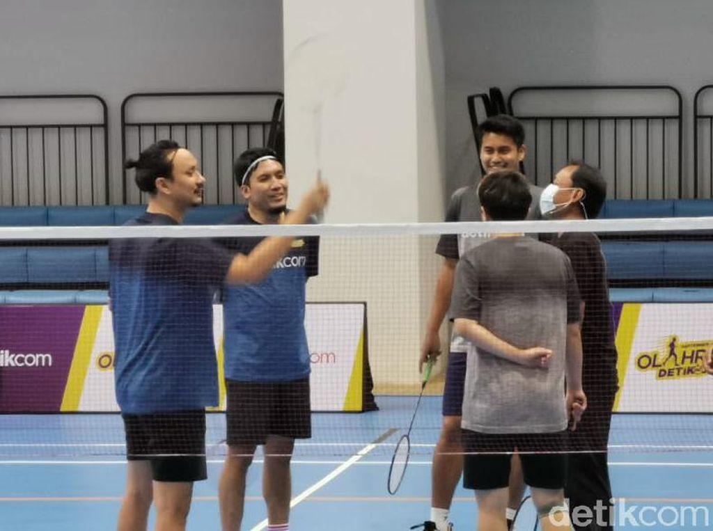 Fun Match Owi/Butet Vs Vincent/Desta, Simak Lagi Keseruannya!