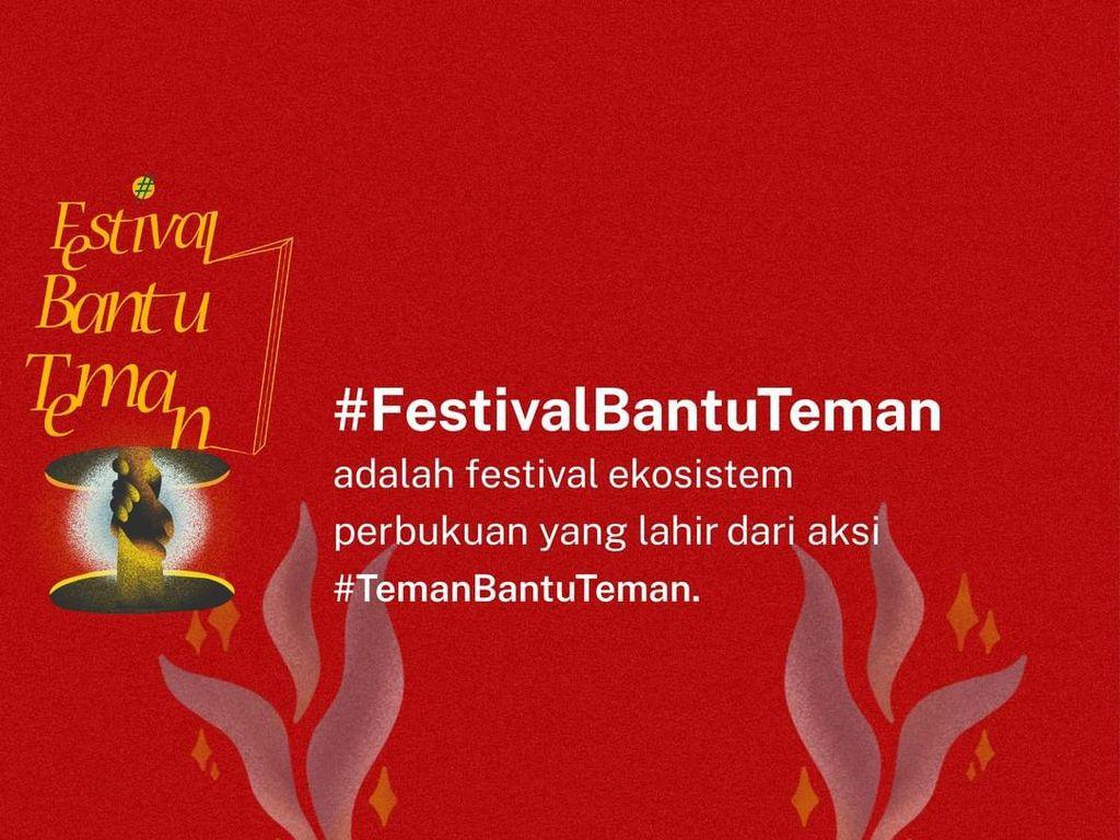Festival Bantu Teman Ajak Publik Donasi untuk Pekerja Buku Indonesia