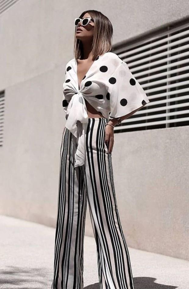 Gaya fashion tabrak motif