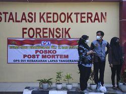 DVI Tunggu DNA Pembanding Jenazah WN Nigeria Korban Kebakaran Lapas Tangerang