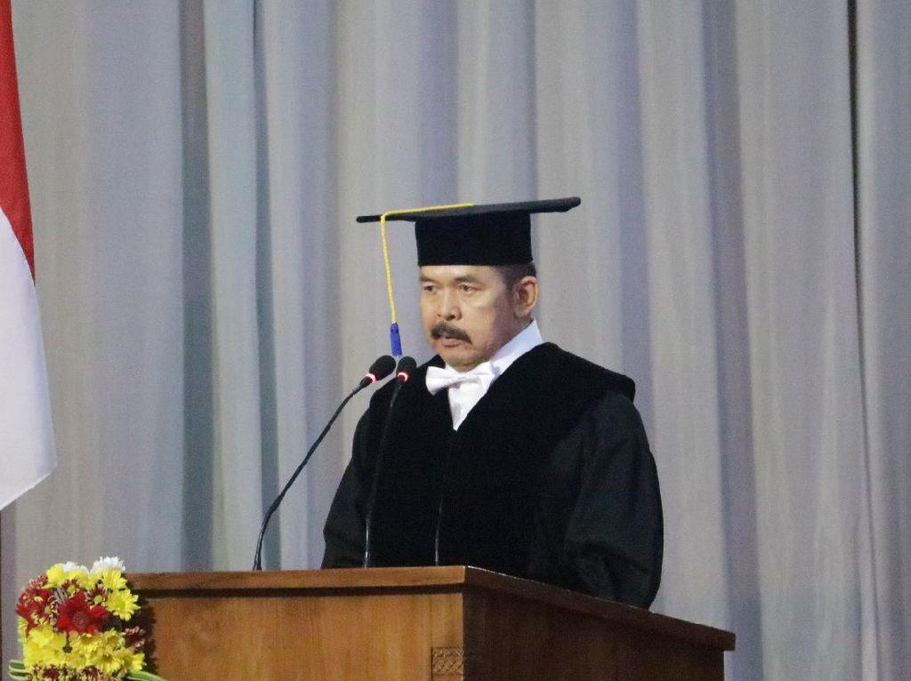 PJI Perwakilan KPK Selamati Jaksa Agung yang Dapat Gelar Guru Besar Unsoed