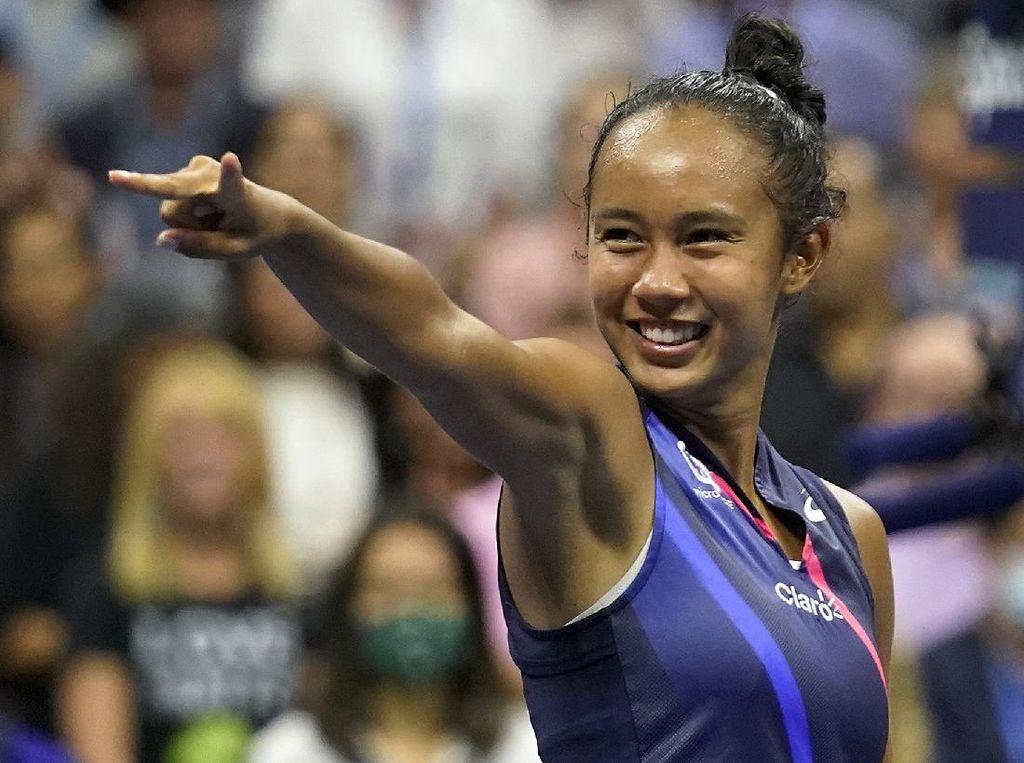 Sensasional! Leylah Fernandez Vs Raducanu di Final AS Terbuka 2021