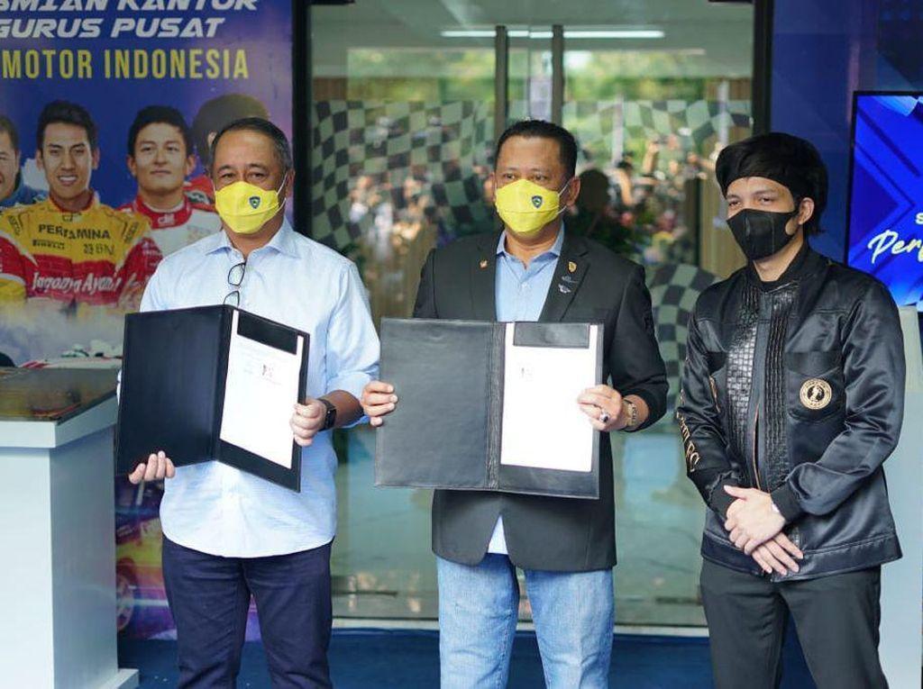 Markas IMI Pindah ke GBK, Bamsoet: Lebih Kondusif dan Refresh