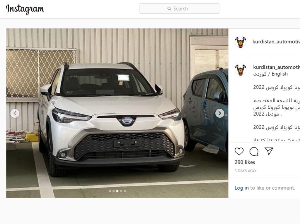 Bocor! Ini Penampakan Toyota Corolla Cross Versi JDM