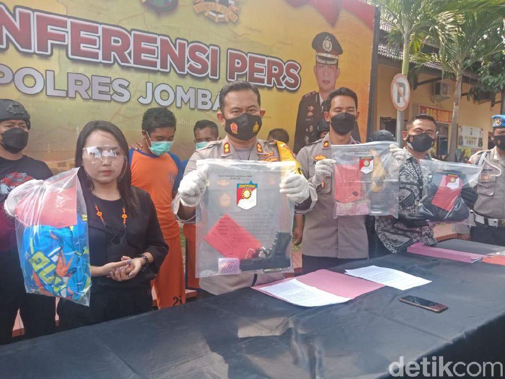 Perampok Minimarket di Jombang Diringkus, 2 Pelaku Ditembak Kaki