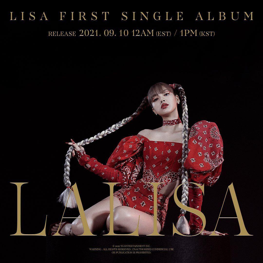 Resmi Debut Solo, Lisa BLACKPINK Rilis MV 'LALISA'