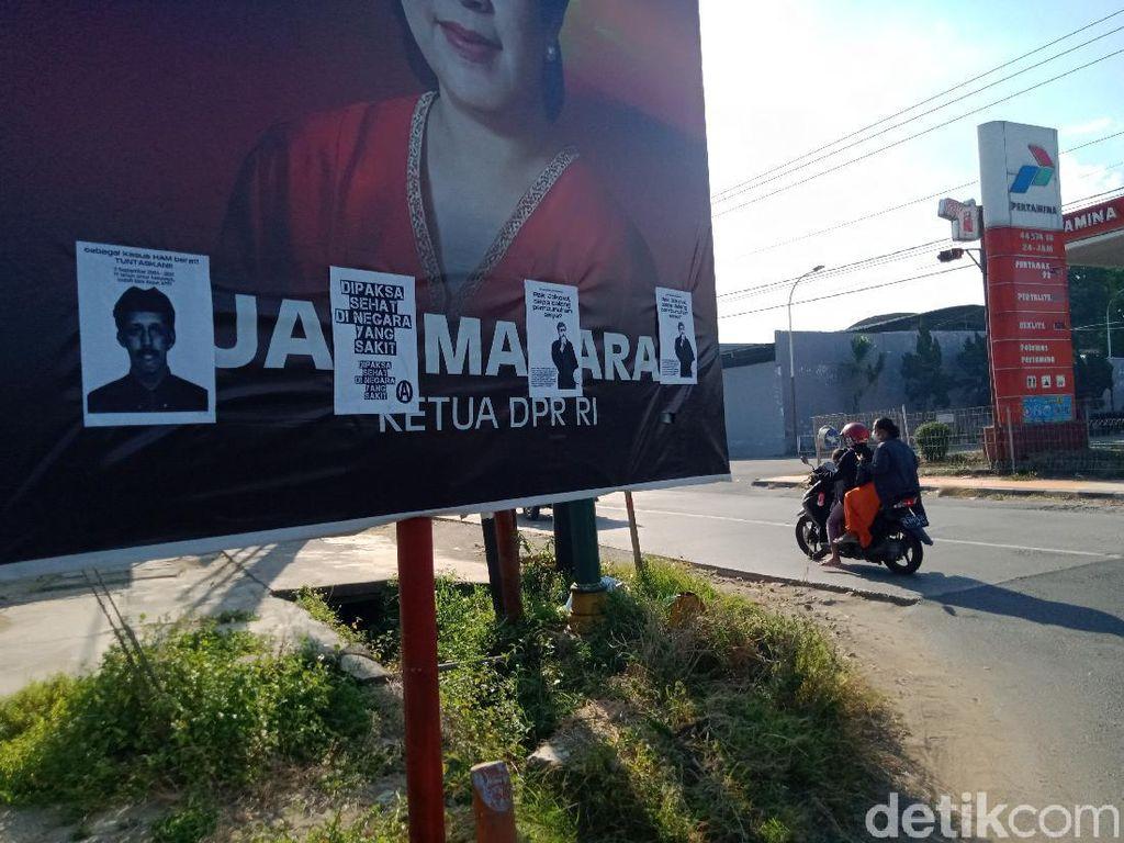 Selebaran Dipaksa Sehat Nempel di Baliho Puan, PDIP Klaten Bilang Begini