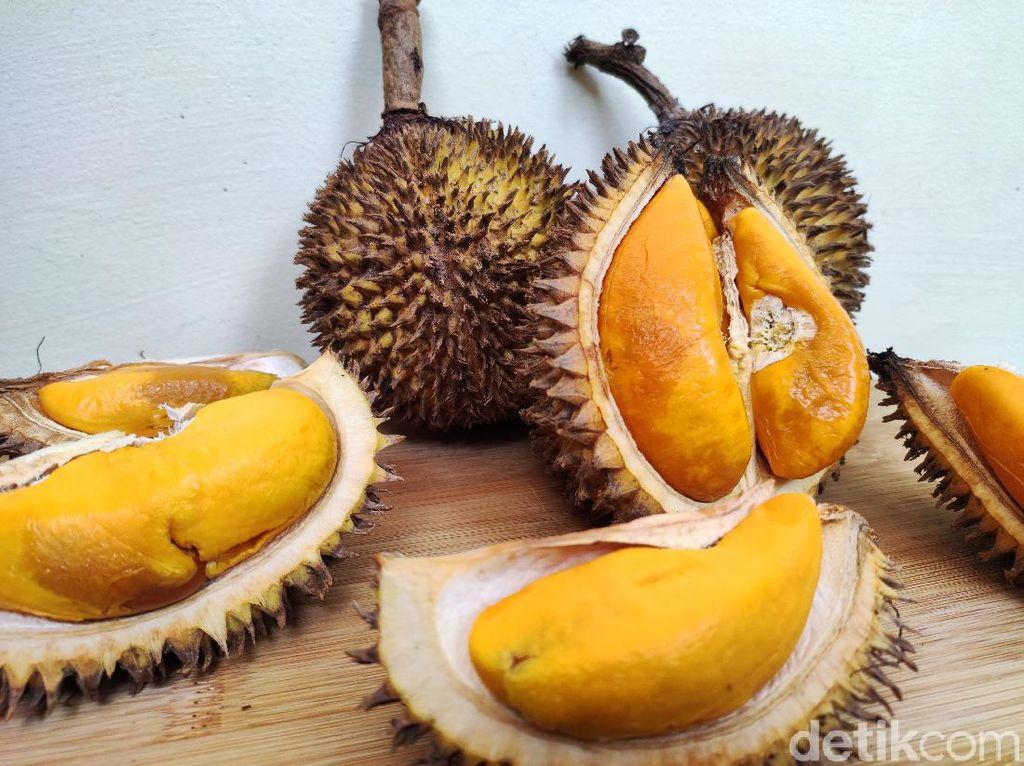 Berburu Buah Lai di Jakarta, Durian Oranye yang Enak dan Kaya Manfaat