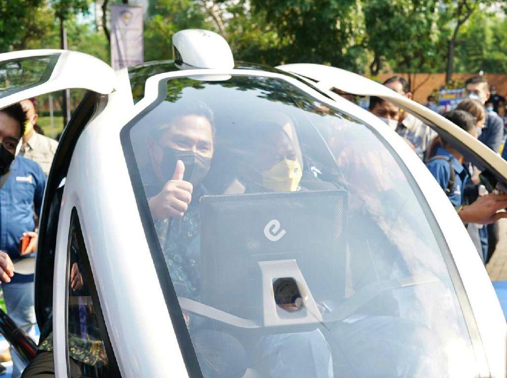 Taksi Terbang EHang Bakal Jadi Daya Tarik Pariwisata Bali