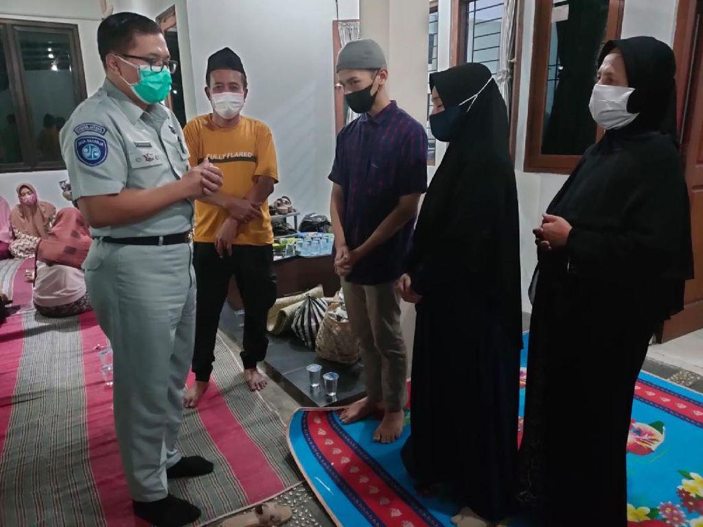 Jasa Raharja Berikan Santunan Laka Beruntun Bencah Semarang