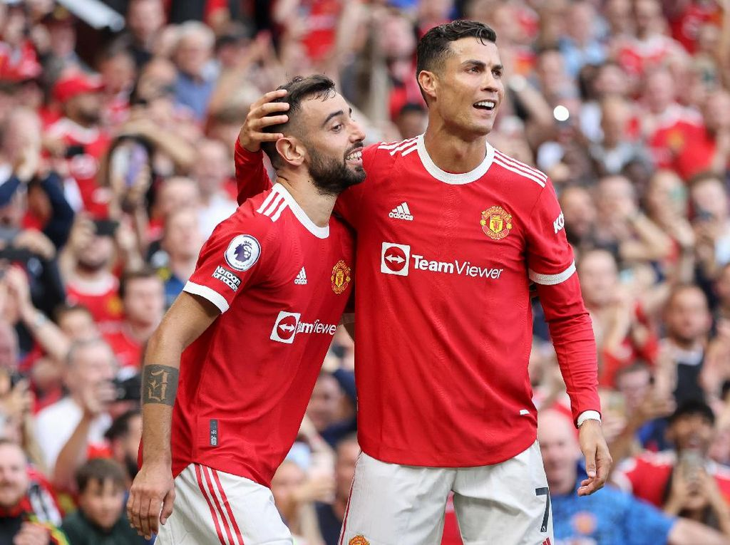 Man Utd Vs Newcastle: Ronaldo Brace, Setan Merah Menang 4-1