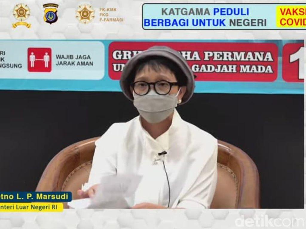 Diplomasi Jadi Strategi Menlu Penuhi Kebutuhan Vaksin Corona Indonesia