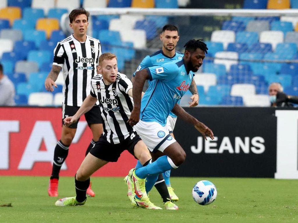 Napoli Vs Juventus: Bianconeri Tumbang, Dekati Zona Degradasi
