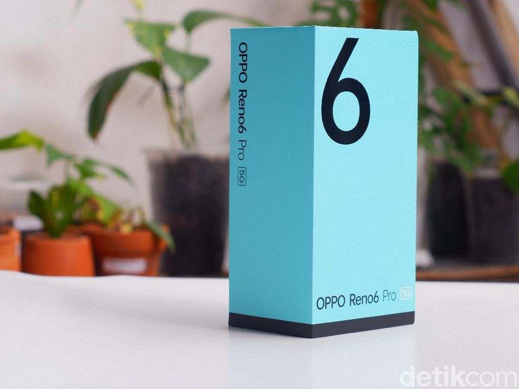 Unboxing Reno6 Pro 5G, Spesifikasi Gahar Harga Rp 10 Jutaan
