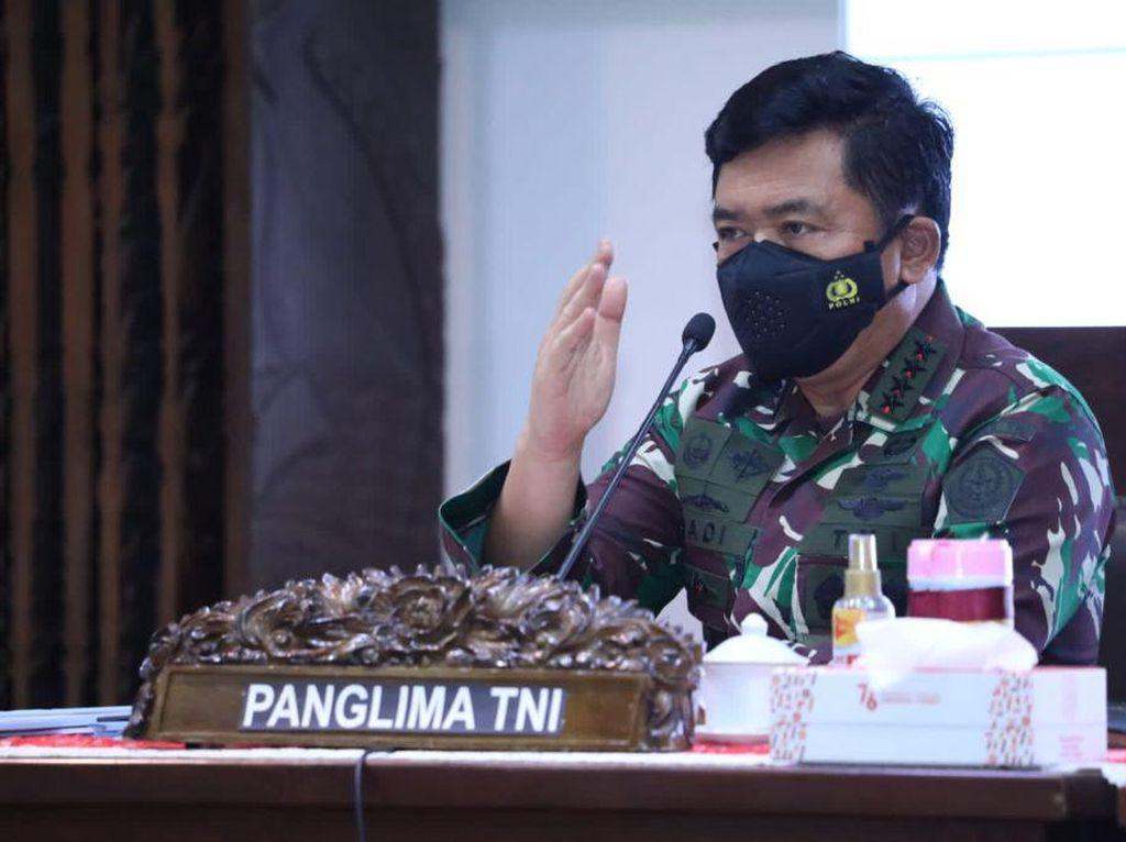 Panglima TNI ke Malang: Tak Ada yang Isoman, Warga Percaya Isoter Baik